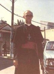 D. Joel Ivo Catapan homenageou os padres da congregação e nos deu, como padroeiro, o Sagrado Coração de Jesus.