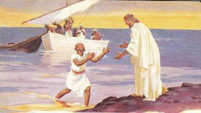 Jesus e Pedro