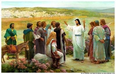Jesus e os doze discípulos