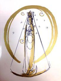 Nossa Senhora Aparecida estilizada